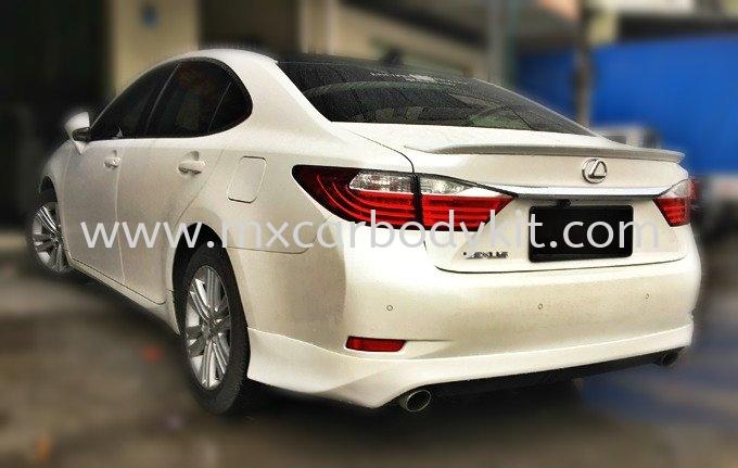 LEXUS ES250 REAR SKIRT  ES250 LEXUS Johor, Malaysia, Johor Bahru (JB), Masai. Supplier, Suppliers, Supply, Supplies | MX Car Body Kit