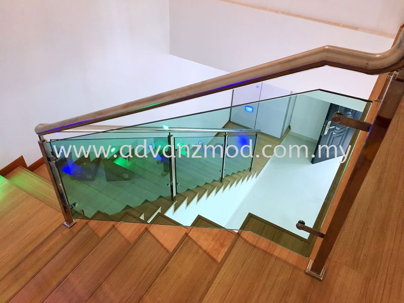Stainless Steel Staircase Railing  Stainless Steel Glass Railing Selangor, Malaysia, Kuala Lumpur (KL), Puchong Supplier, Supply, Supplies, Retailer   Advanz Mod Trading
