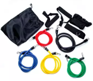 TPE 10 in 1 Set of Elastic Fitness Exercise Resistant Rope Resistance Pull Band Hardware & Fitness Malaysia, Selangor, Kuala Lumpur (KL) Supplier, Suppliers, Supply, Supplies | Like Bug Sdn Bhd