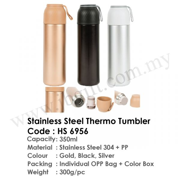 Stainless Steel Thermo Tumbler HS 6956 Flask Drinkwares Malaysia Johor Bahru JB Supplier, Supply, Supplies | JB Gift & Souvenir
