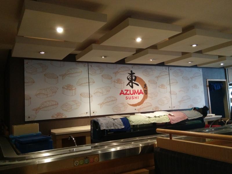 AZUMA SUSHI SUNGAI PETANI AZUMA SUSHI SUNGAI PETANI SUSHI CORPORATE SIGN Penang, Malaysia, Butterworth Supplier, Suppliers, Supply, Supplies | Maxart Marketing And Supplies