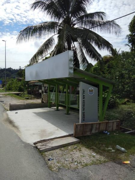 MPSP BUS STOP  CORPORATE SIGN Penang, Malaysia, Butterworth Supplier, Suppliers, Supply, Supplies   Maxart Marketing And Supplies