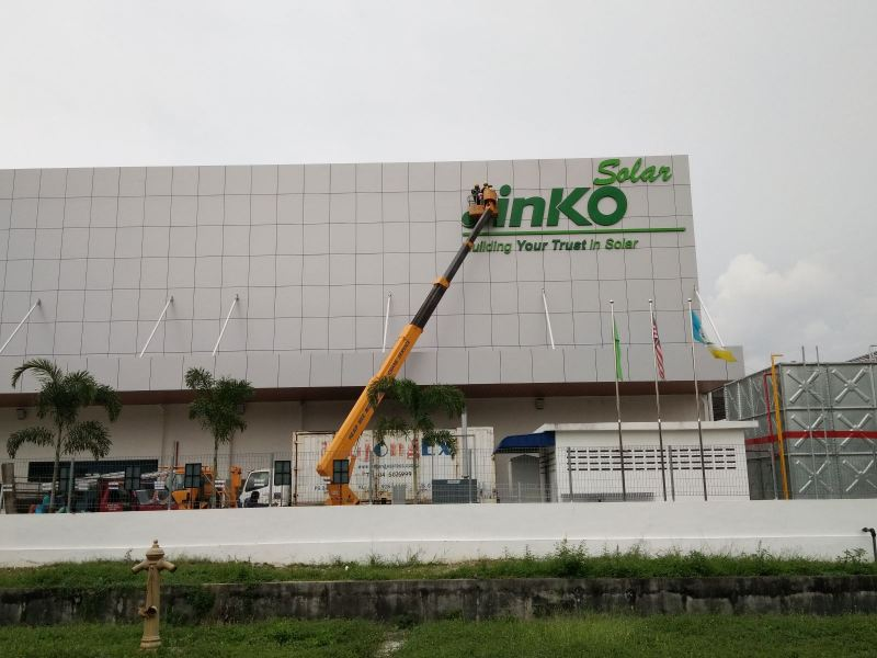 JINKO SOLAR SIGN CORPORATE SIGN Penang, Malaysia, Butterworth Supplier, Suppliers, Supply, Supplies | Maxart Marketing And Supplies