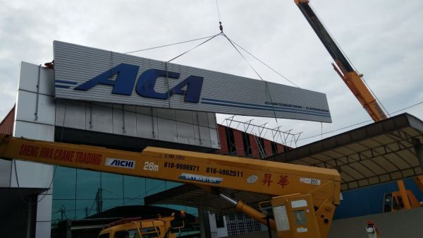ACA LED FRONT LIGHT LED SIGN Penang, Malaysia, Butterworth Supplier, Suppliers, Supply, Supplies | Maxart Marketing And Supplies