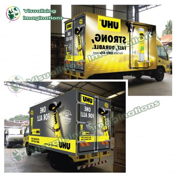 Vehicle Wrapping Signboard (Lorry) Lorry Vehicle Wrapping Signboard Selangor, Malaysia, Kuala Lumpur (KL), Puchong Supplier, Manufacturer, Supply, Supplies | Oak Leaf Printing & Advertising Sdn Bhd