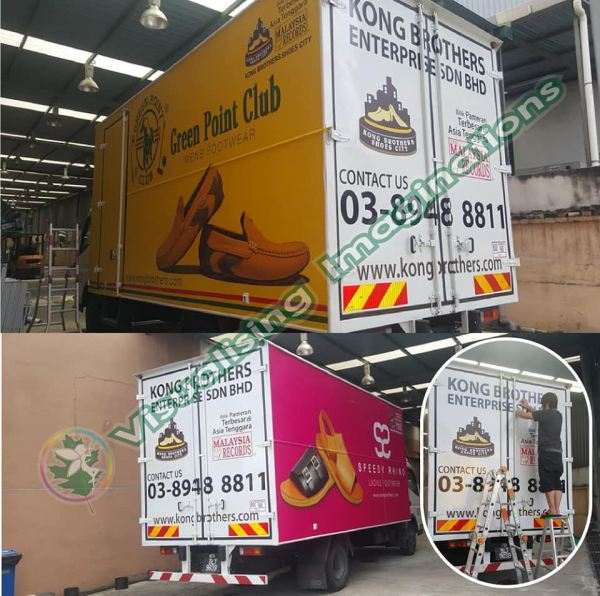 Vehicle Wrapping Signboard (Lorry) Lorry Vehicle Wrapping Signboard Selangor, Malaysia, Kuala Lumpur (KL), Puchong Supplier, Manufacturer, Supply, Supplies   Oak Leaf Printing & Advertising Sdn Bhd