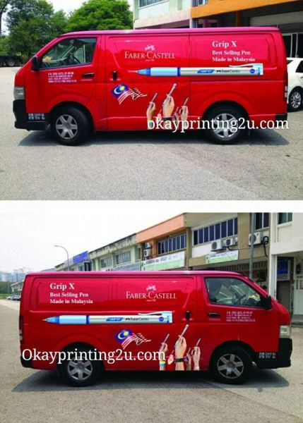 Vehicle Wrapping Signboard (Van) Van Vehicle Wrapping Signboard Selangor, Malaysia, Kuala Lumpur (KL), Puchong Supplier, Manufacturer, Supply, Supplies | Oak Leaf Printing & Advertising Sdn Bhd