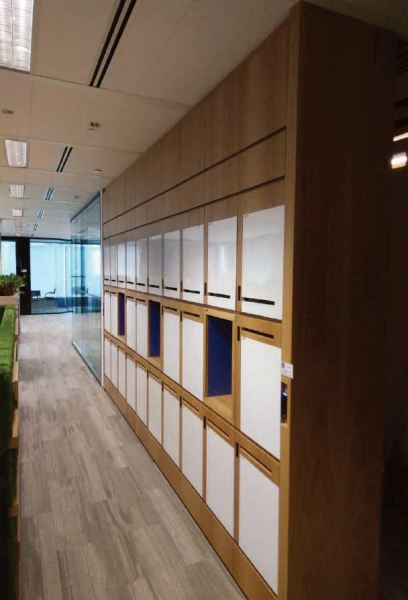 Locker Corporate Office, Singapore Projects Malaysia, Johor Bahru (JB), Singapore, Masai Manufacturer, Supplier, Supply, Supplies | Timber Decor Manufacture Sdn Bhd