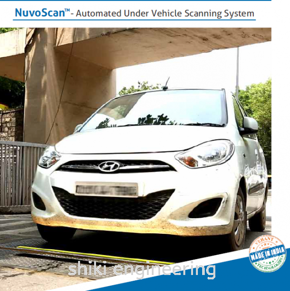 NUVOSCAN-  AUTOMATED UNDER VEHICLE SCANNING SYSTEM X-Ray Vehicle Detection Systems Selangor, Malaysia, Kuala Lumpur (KL), Klang Supplier, Suppliers, Supply, Supplies | Shiki Engineering & Services Sdn Bhd