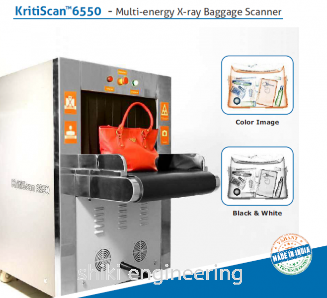 KRITISCAN 6550 - MULTI ENERGY X-RAY BAGGAGE SCANNER X-Ray Detection System Selangor, Malaysia, Kuala Lumpur (KL), Klang Supplier, Suppliers, Supply, Supplies   Shiki Engineering & Services Sdn Bhd