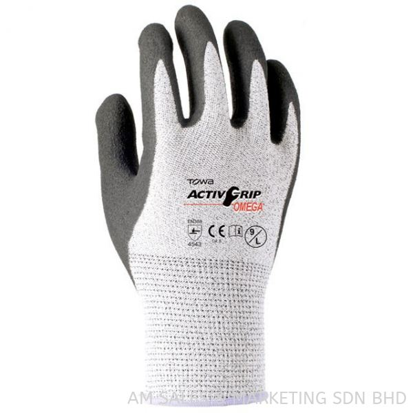 TOWA ActivGrip™ Omega 540 Cut Resistant Gloves Hand Protection Safety Products Selangor, Malaysia, Kuala Lumpur (KL), Melaka, Johor, Penang Supplier, Suppliers, Supply, Supplies | AM Sales & Marketing Sdn Bhd