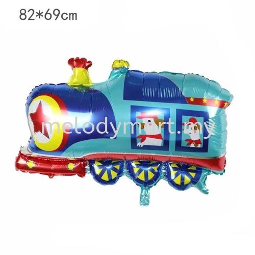 Train 82x69cm