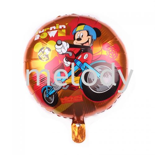 """Foil 18"""" Mickey - Bicycle"""