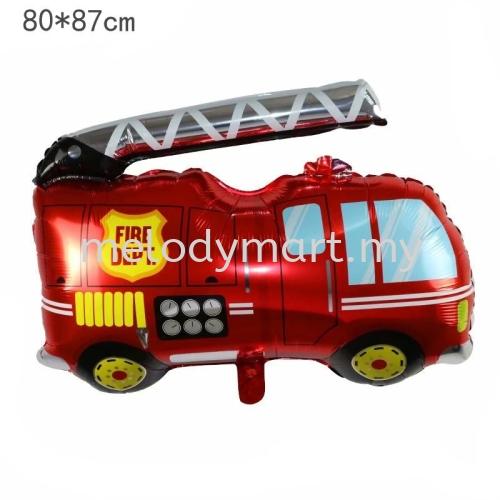 Fire Truck 80x87cm