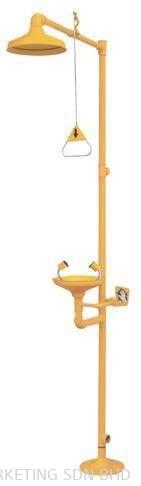 Method™ Floor Mounted Combination Unit of Drench Shower & Eyewash ECB 10020 AB (OHOTHME4400023) Emergency Shower Emergency Response Safety Products Selangor, Malaysia, Kuala Lumpur (KL), Melaka, Johor, Penang Supplier, Suppliers, Supply, Supplies | AM Sales & Marketing Sdn Bhd