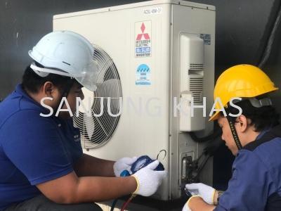 Air Conditioning Split Unit Servicing