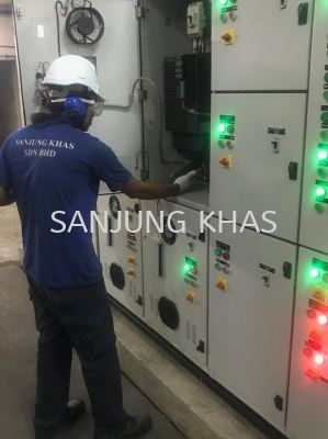 Checking Electrical Switch Board
