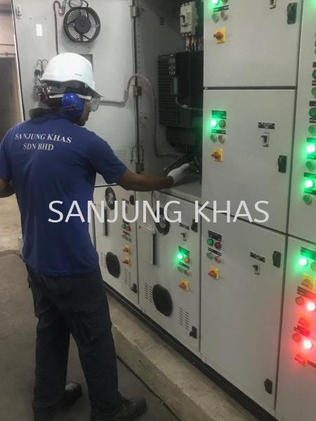 Checking Electrical Switch Board Checking Electrical Switch Board Air Conditioner Repairs & Services Selangor, Malaysia, Kuala Lumpur (KL), Shah Alam Repair, Maintenance, Service | Sanjung Khas Sdn Bhd