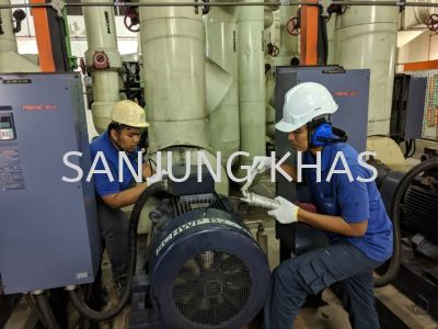 Chilled Water Pump Greasing