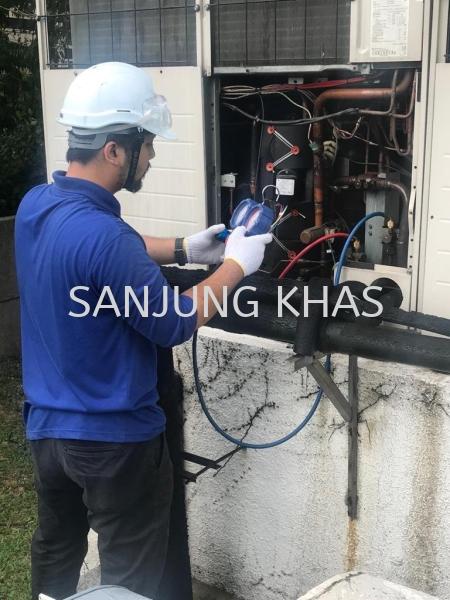 Variable Refrigerant Flow (VRF) Servicing  VRF Servicing Air Conditioner Repairs & Services Selangor, Malaysia, Kuala Lumpur (KL), Shah Alam Repair, Maintenance, Service | Sanjung Khas Sdn Bhd