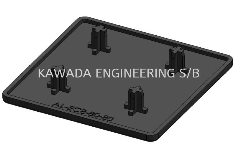End Cap 80 X 80  End Cap Aluminium Profile Accessories  Johor Bahru (JB), Malaysia, Ulu Tiram Supplier, Distributor, Supply, Supplies | Kawada Engineering (M) Sdn Bhd