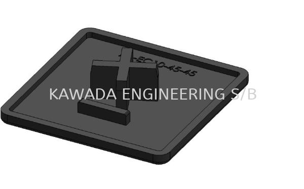 End Cap 45 X 45  End Cap Aluminium Profile Accessories  Johor Bahru (JB), Malaysia, Ulu Tiram Supplier, Distributor, Supply, Supplies | Kawada Engineering (M) Sdn Bhd
