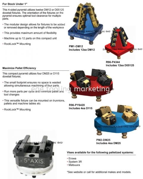 5th Axis Pyramids & Automation Automation 5th Axis Selangor, Malaysia, Kuala Lumpur (KL), Klang Supplier, Suppliers, Supply, Supplies | EAE Tooling Marketing Sdn Bhd