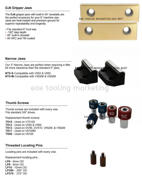 5th Axis Accessories Accessories 5th Axis Selangor, Malaysia, Kuala Lumpur (KL), Klang Supplier, Suppliers, Supply, Supplies   EAE Tooling Marketing Sdn Bhd