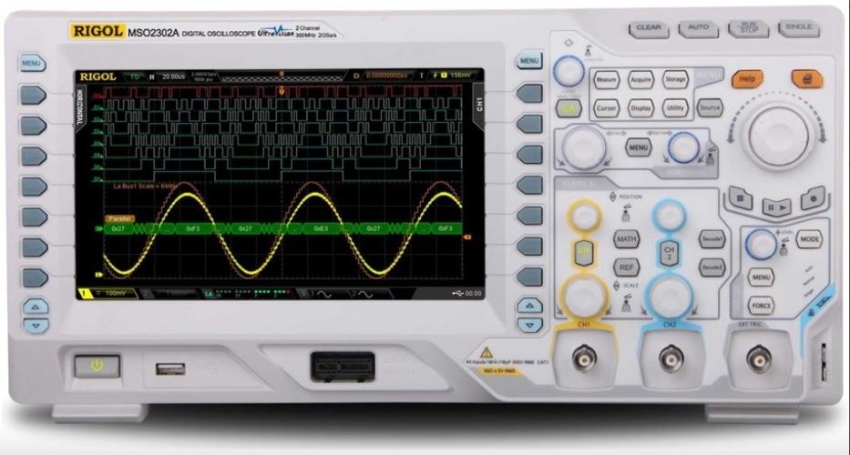 Rigol MSO2302A-S Mixed Signal Oscilloscope 300MHz