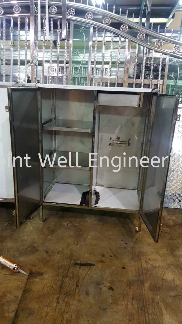 Stainless Storage Rack And Cabinet Others Product  Johor Bahru (JB), Johor Installation, Supplier, Supplies, Supply | Joint Well Engineering