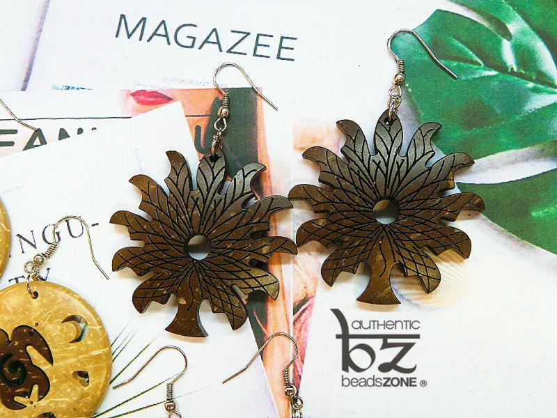 ER99-689 Leaves Shape Earring Penang, Georgetown, Malaysia. Manufacturer, Supplier, Supply, Supplies | Guo Qiang Sdn Bhd (beadsZONE)