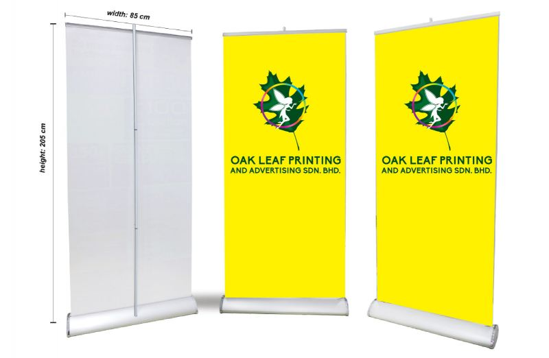 Deluxe 85cm Roll Up Stand Roll up Stand Series Exhibition Dispaly System Selangor, Malaysia, Kuala Lumpur (KL), Puchong Supplier, Manufacturer, Supply, Supplies | Oak Leaf Printing & Advertising Sdn Bhd