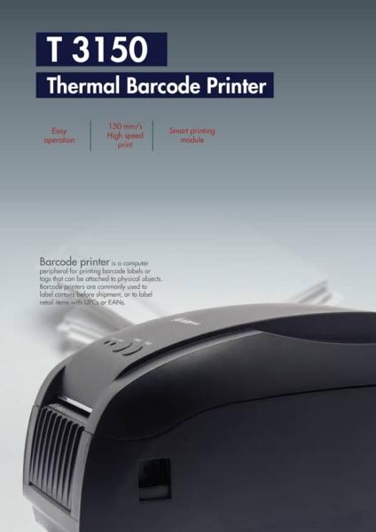 T3150 Thermal Barcode Printer Hardware Selangor, Malaysia, Kuala Lumpur (KL), Puchong Supplier, Suppliers, Supply, Supplies | EIST System Sdn Bhd