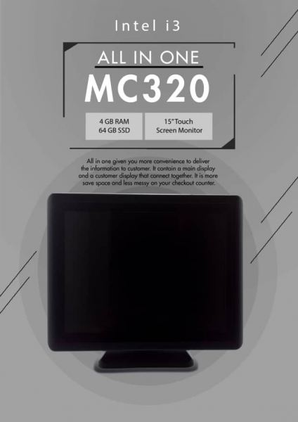 MC320 All in One Terminal Hardware Selangor, Malaysia, Kuala Lumpur (KL), Puchong Supplier, Suppliers, Supply, Supplies | EIST System Sdn Bhd