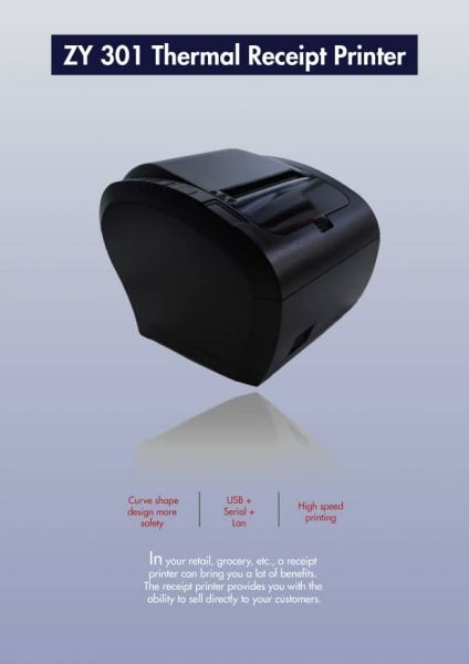 ZY 301 Thermal Receipt Printer Hardware Selangor, Malaysia, Kuala Lumpur (KL), Puchong Supplier, Suppliers, Supply, Supplies | EIST System Sdn Bhd