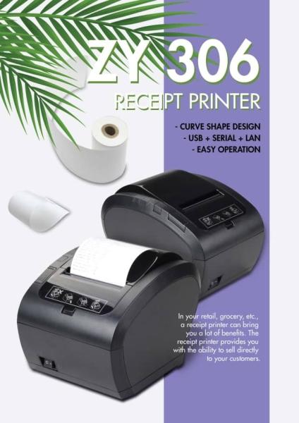 ZY 306 Receipt Printer Hardware Selangor, Malaysia, Kuala Lumpur (KL), Puchong Supplier, Suppliers, Supply, Supplies | EIST System Sdn Bhd