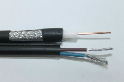 ALL-LINK RG59 E80 CATV COAXIAL CABLE PLUS VDE 250M