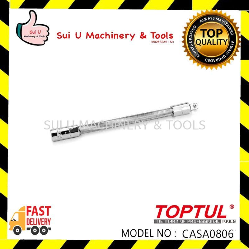 "TOPTUL CASA0806 FLEXIBLE EXTENSION BAR 1/4"" 6"""