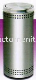 FT031-25 / FT031-30 SS Litter Bin c/w Flip Top Stainless Steel Bin Housekeeping Products  Johor Bahru (JB), Malaysia, Sarawak, Perak, Iskandar Puteri, Menglembu, Kuching Supplier, Supplies, Distributor, One Stop, Provider | Contact Amenities & Hotel Supplies