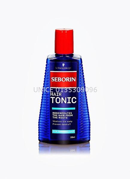 Schwarzkopf Seborin Aktiv Hair Tonic (300ml) SCHWARZKOPF HAIR SCALP CARE TREATMENT/HAIR TONIC Johor Bahru JB Malaysia Supplier & Wholesaler | UNICE MARKETING SDN BHD