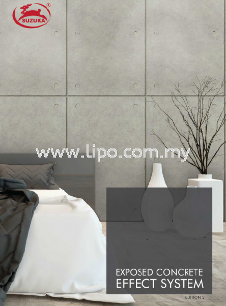 Effect System Effect System Exposed Concrete Johor Bahru JB Malaysia Supplier & Supply | Lipo Spray Coating Services