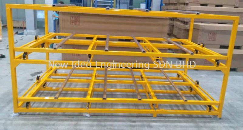 Heavy Duty 2 way pull out shelves  Racking Penang, Malaysia, Bukit Mertajam Supplier, Suppliers, Supply, Supplies   New Idea Engineering Sdn Bhd
