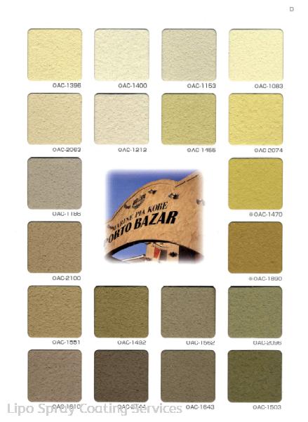 Colours 4 Bell-Art Pattern Sample Johor Bahru JB Malaysia Supplier & Supply | Lipo Spray Coating Services