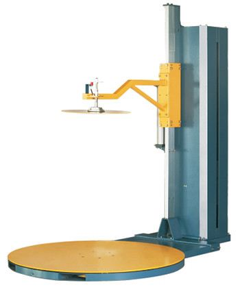 SUREPACK Automatic Pallet Stretch Wrapper MH-FG-2000C Pallet Stretch Wrapper Machines Singapore, Johor Bahru (JB), Malaysia Supplier, Rental, Supply, Supplies | MP Group