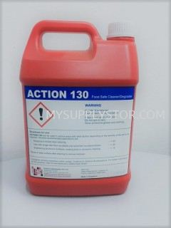 Action 130 - Foodsafe Degreaser Chemical Cleaning , Glass Cleaner Surface Cleaner, Multipurpose Floor  Johor Bahru (JB), Malaysia Supplier, Supply, Supplies, Wholesaler | Mysupply Global Trading PLT