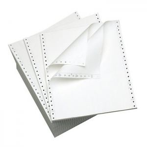 """Computer Forms 9.5"""" x 11""""  6- ply NCR ( White )"""