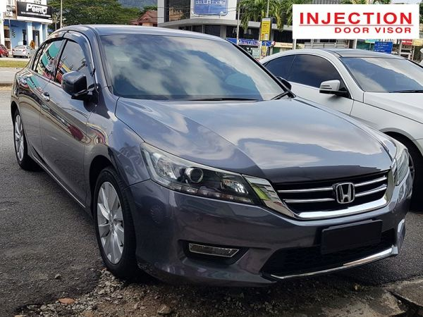 HONDA ACCORD 13Y-18Y = INJECTION DOOR VISOR WITH STAINLESS STEEL LINING HONDA INJECTION Malaysia, Selangor, Kuala Lumpur (KL), Semenyih Manufacturer, Supplier, Supply, Supplies | Venttec Supply (M) Sdn Bhd
