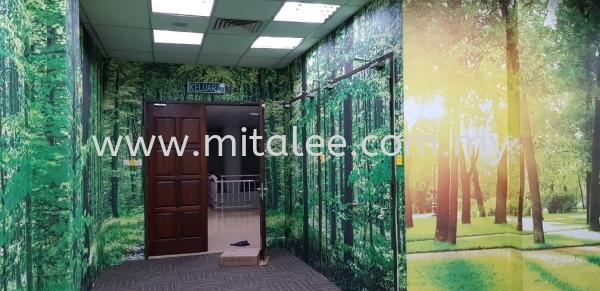 Display Wallpaper-Job done picture Malaysia, Johor Bahru (JB), Selangor, Kuala Lumpur (KL), Melaka Supplier, Supply | Mitalee Carpet & Furnishing Sdn Bhd