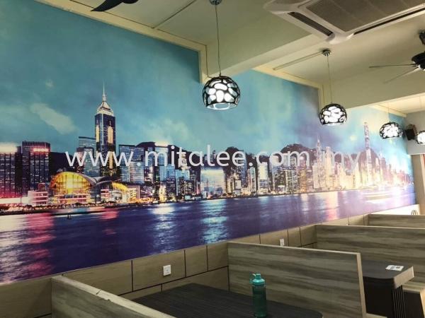 Display Wallpaper-Job done picture Johor Bahru (JB), Malaysia, Kuala Lumpur (KL), Selangor, Melaka Supplier, Supply | Mitalee Carpet & Furnishing Sdn Bhd