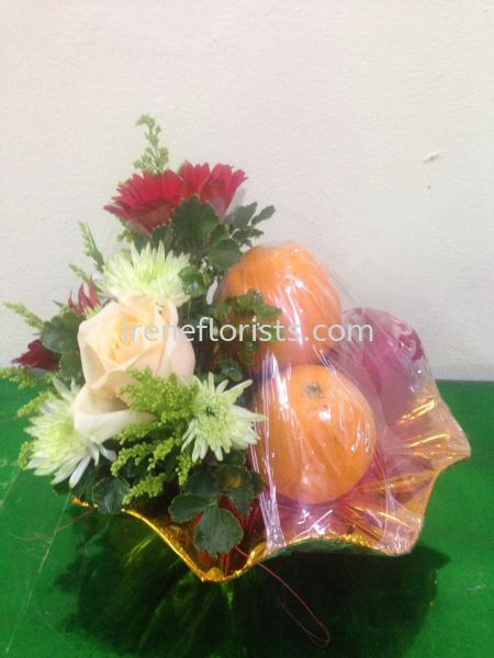 FB 011 Fruit and Floral Basket Taiping, Perak, Malaysia. Suppliers, Supplies, Supplier, Supply | Irene's Florists De Beaute